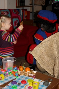 En heel veel lekkers van Zwarte Piet